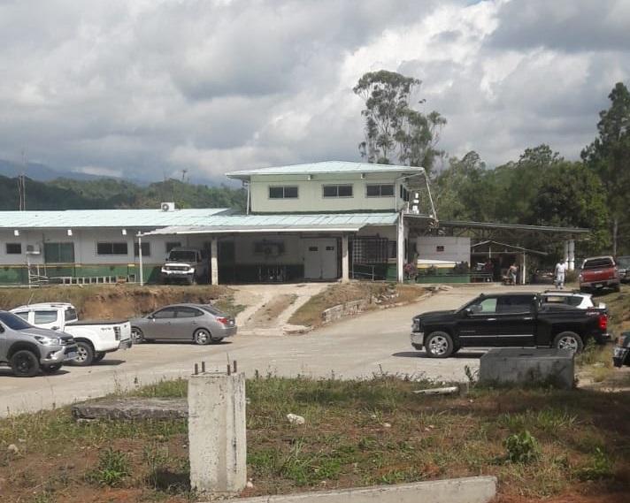 Puesto de Salud en Río  Sereno donde fue atendido el joven. Foto: José Vásquez.