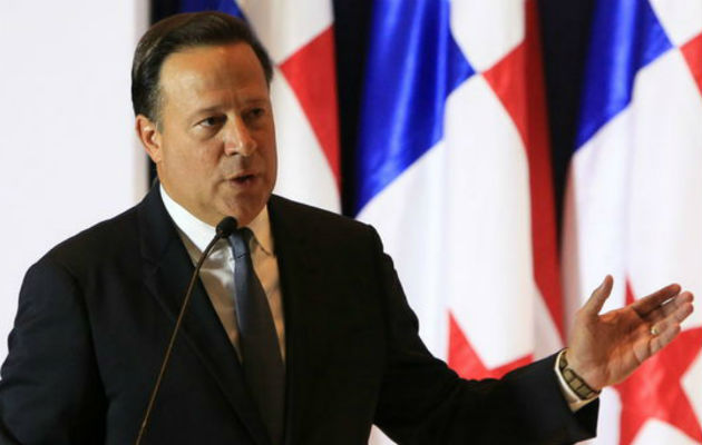 Presidente Juan Carlos Varela saca mala nota tras encuesta a nivel nacional, el 83% lo desaprueba. Foto: Panamá América.
