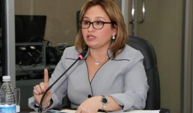 Kenia Isolda Porcell, jefa del Ministerio Público.