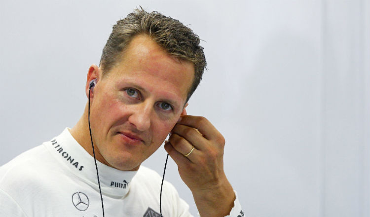 Michael Schumacher se accidentó en Francia Foto EFE