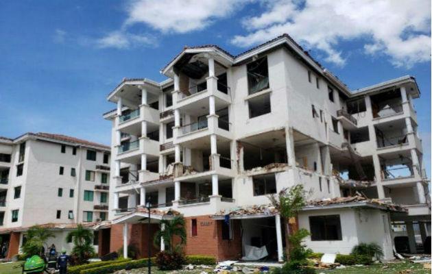 Diesciocho familias resultaron afectadas tras explosión del PH Costamare. Foto: Panamá América.