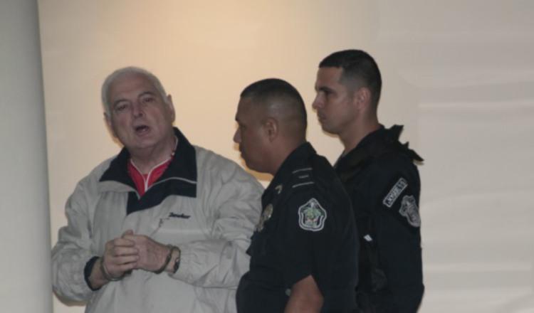 Hoy Ricardo Martinelli llega a 202 días de reclusión en el centro penitenciario El Renacer. Archivo
