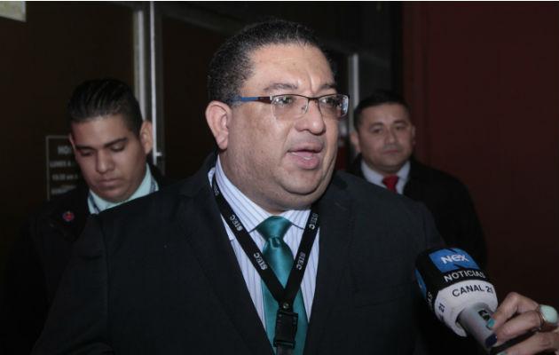 Ricaurte Gonález, fiscal superior del juicio que se le sigue a Ricardo Martinelli.