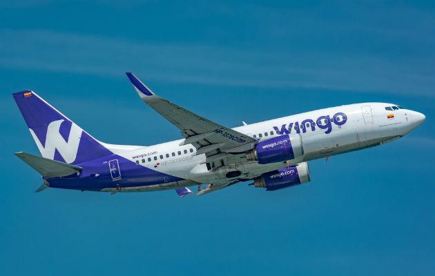 En el 2018, Wingo transportó 21% más pasajeros que en 2017
