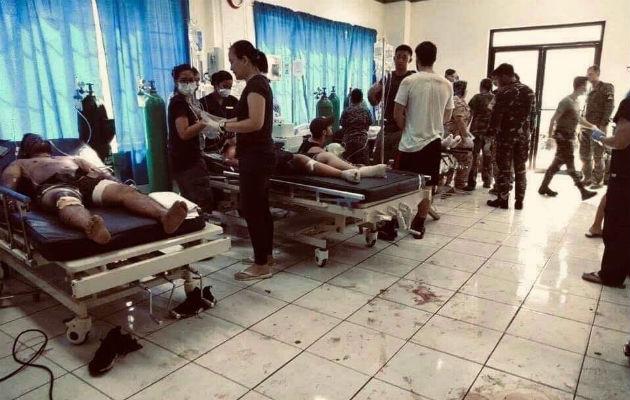 Quince civiles y cinco soldados fallecieron en lo que se considera un ataque de grupos terroristas, que dejó además 81 heridos (65 civiles, 14 soldados y dos policías).