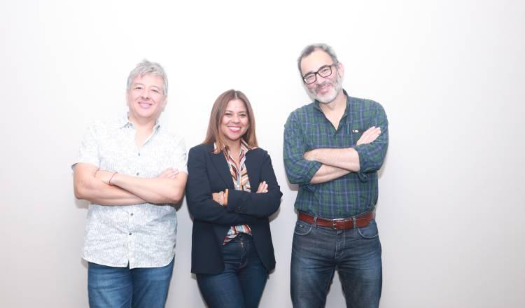 Jurado. Gustavo Pazmín, Cynthia Weisner y Edgar San Juan Padilla Cortesía.