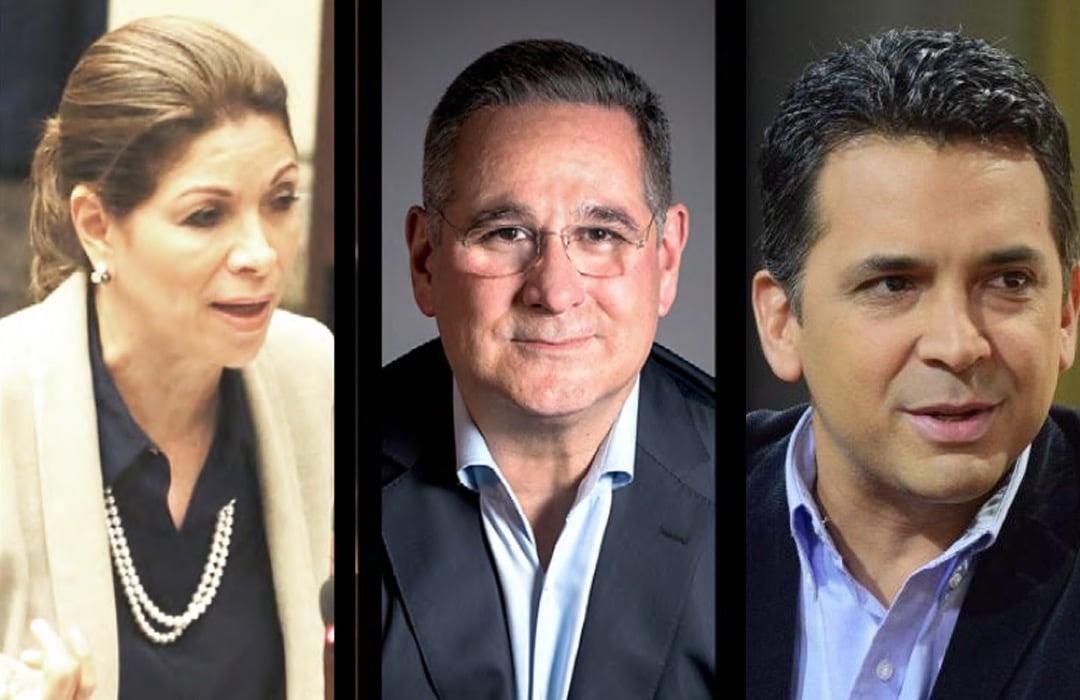 Ana Matilde Gómez, Marco Ameglio y Ricardo Lombana oficialmente candidatos presidencias por la libre postulación. Foto: Panamá América.