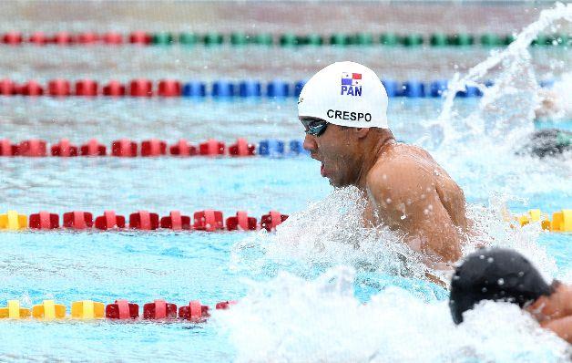 Crespo viene de una buena competencia en Eslovaquia. / Foto Comité Olímpico de Panamá
