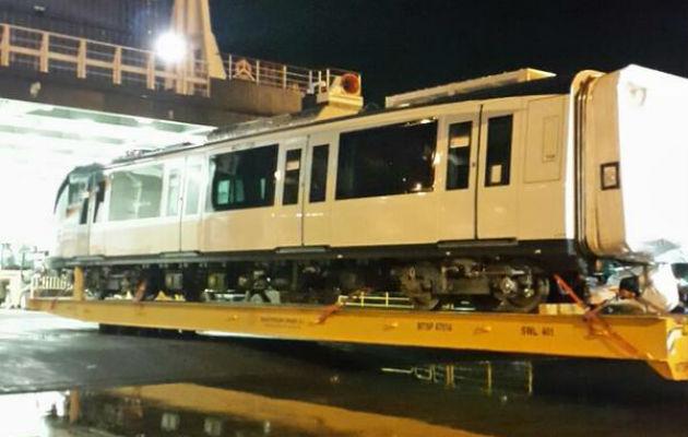 Llegó a Panamá el tren No. 20 del Metro
