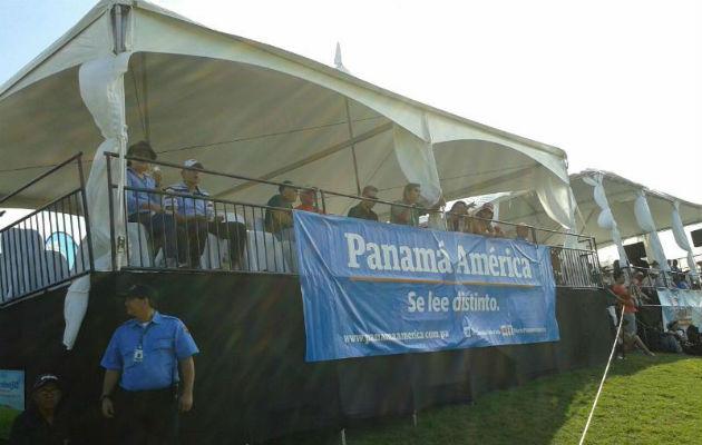 Disfrutan torneo de golf con el Panamá América