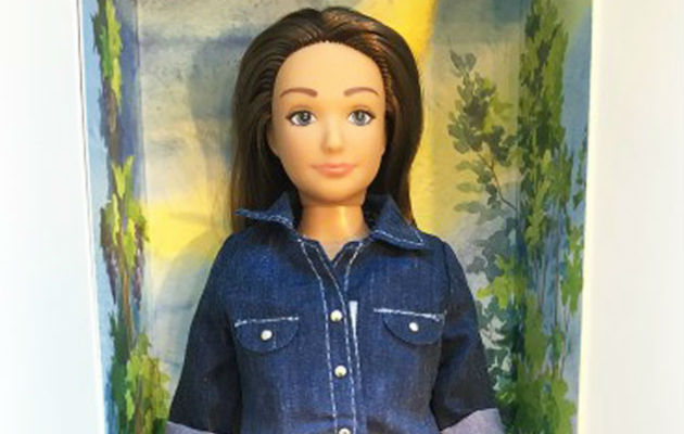 La Barbie normal