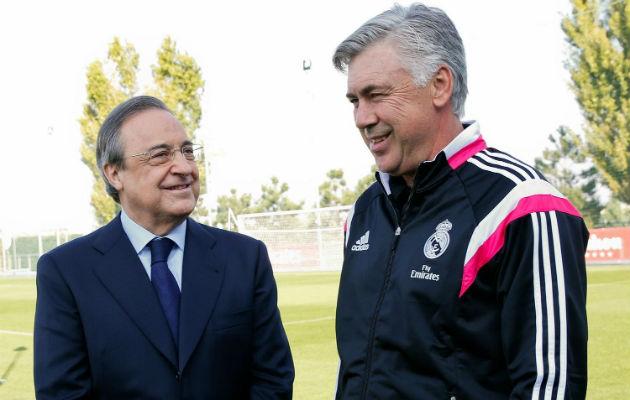 Florentino anuncia que Ancelotti no seguirá en el Real Madrid