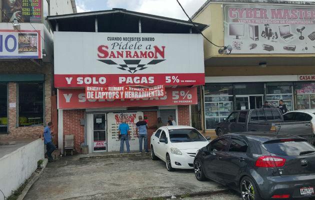 En el asalto participaron al menos unas cinco personas. / Foto: Raimundo Rivera