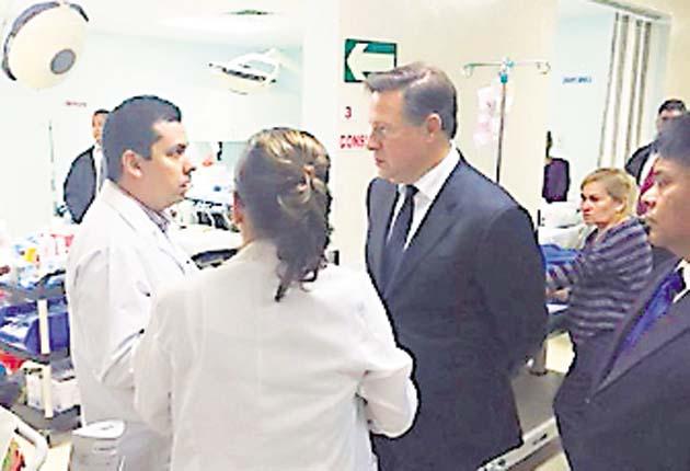 Varela incumple su promesa de mejorar los sistemas de salud