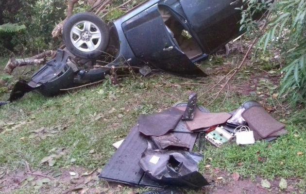Cuatro heridos en accidente en Los Boquerones de Santiago - Panamá América