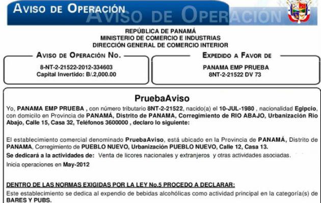 Pago de aviso de operaciones se podr hacer con tarjetas for Pago ministerio del interior