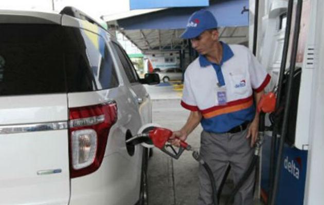 El coche sobre la gasolina no va
