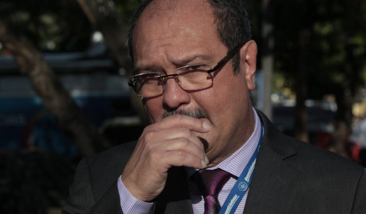 El funcionario nunca aceptó que su gestión estuviese envuelta en una serie de irregularidades. /Foto Víctor Arosemena