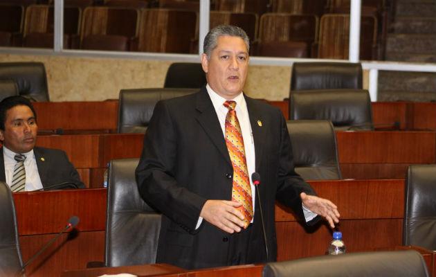 Luis Eduardo Quirós, diputado Panameñista. Foto/Archivo