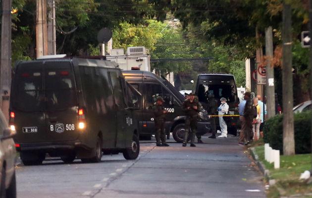 Resultado de imagen para atentado en casa de presidente de codelco