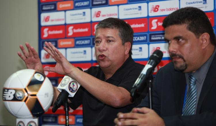 Hernán Darío Gómez dijo que le gustó más el juego de Panamá ante Belice que el de ayer. Anayansi Gamez