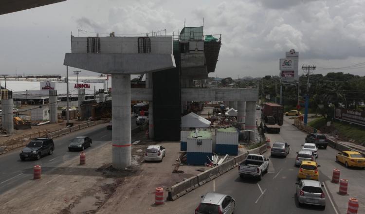 La primera fase de este proyecto muestra un avance de más de 50%, según el Metro de Panamá. Archivo