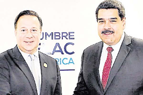Se nota injerencia del chavismo en el discurso del presidente Varela