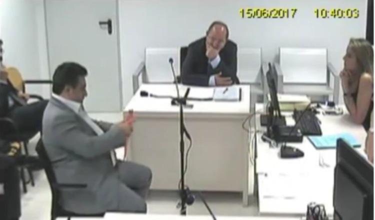 Imagen del video de la delación de Tacla Durán que ha estado circulando en redes sociales. /Foto Internet
