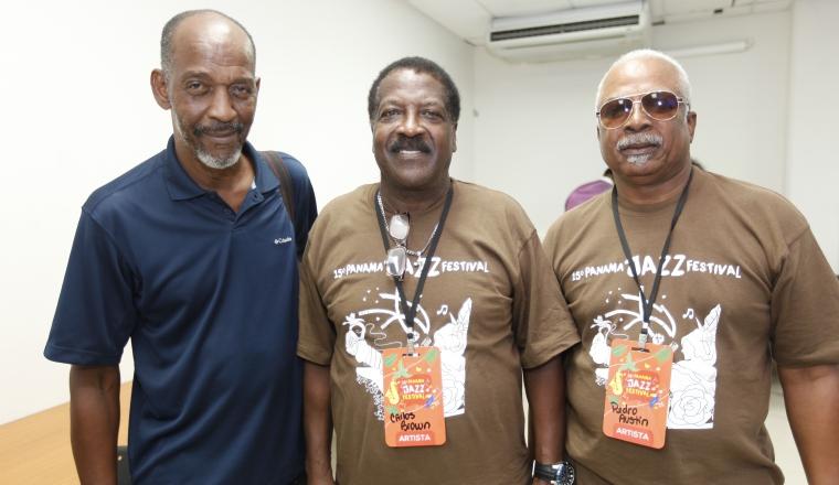 3. Alfredo Reid, Carlos Brown y Pedro Austin.