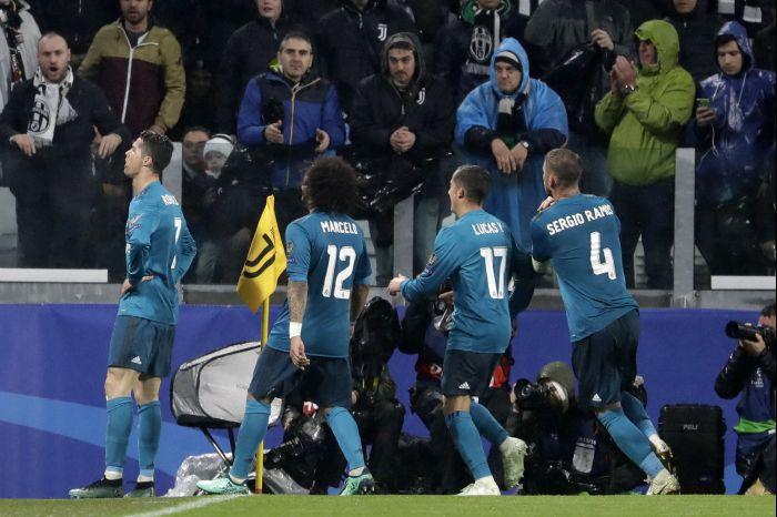 Ronaldo marcó un doblete. Foto AP