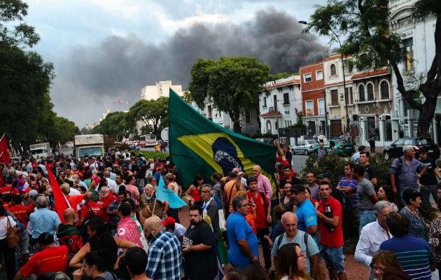 BRASIL: MOVILIZACIÓN CONTRA GUERRA JURÍDICA QUE IMPIDE LIBERTAD DE LULA
