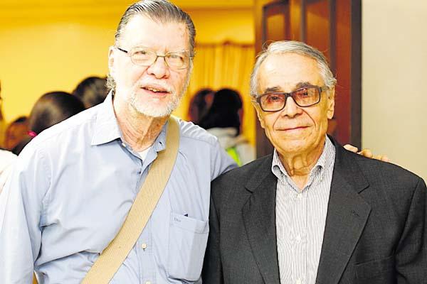 5. Enrique Jaramillo Levi y Rogelio Sinán Domínguez.