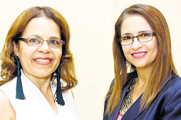 6. Libia Batista y Sandra Siebert.