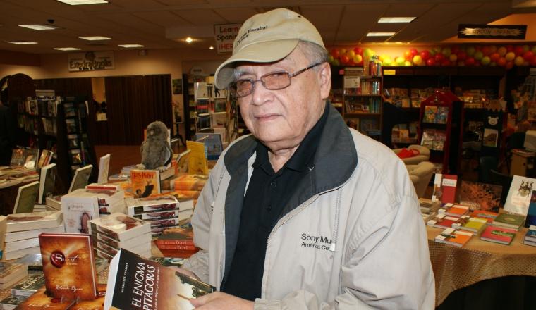 Escritor José Franco. Ganador de varios premios Ricardo Miró. /Foto Archivo