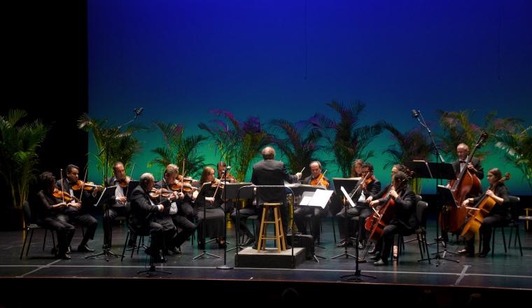 Orquesta Sinfónica de Las Américas en una de sus presentaciones. /Foto Cortesía.