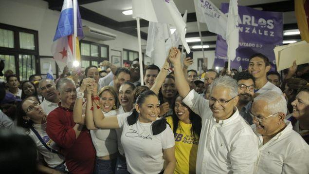 Resultado de imagen para Panameñistas en Chiriqui, con Blandón.