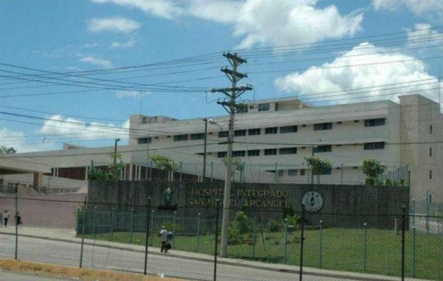 Hospital San Miguel Arcángel de San Miguelito.