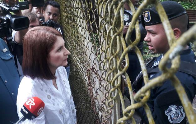 Linares de Martinelli manifestó que ella acudirá ante la justicia las veces que sea necesario. Foto: Archivo Epasa.