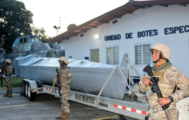 No se descarta que en la embarcación cerca de Capira hayan transportado algún tipo de carga ilícita. @SENANPanama