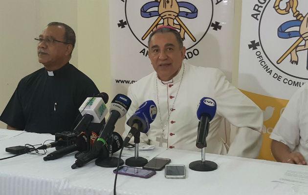 Arzobispo de Panamá, José Domingo Ulloa/ Foto: Adair Concepción