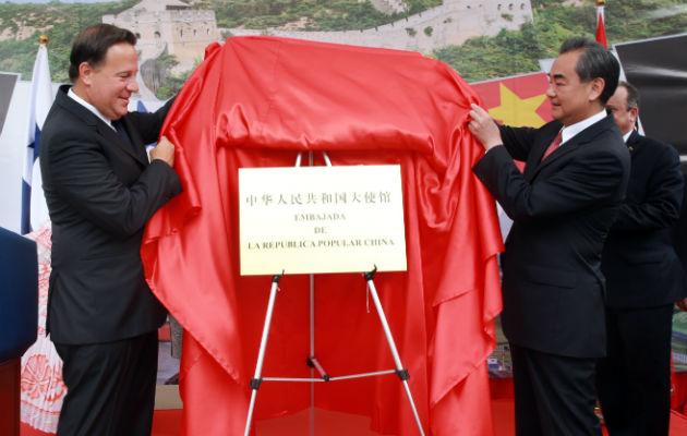 El Gobierno de Juan Carlos Varela entabló relaciones diplomáticas con China en junio del 2017
