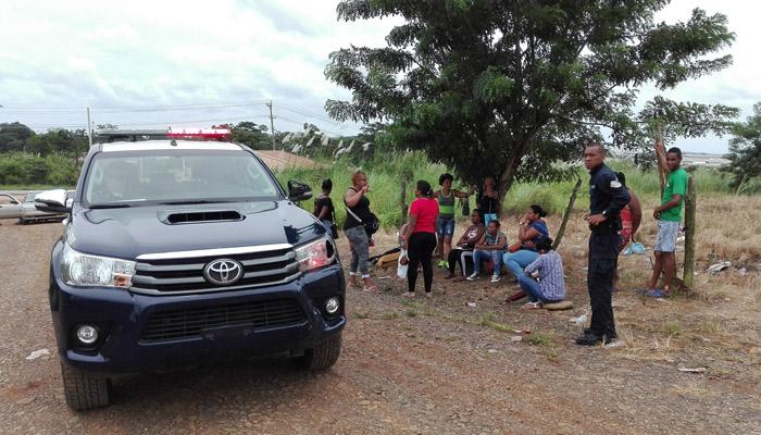 Un grupo de personas invadieron más de 200 casas en Loma de Mastransto 2. Foto/Eric Montenegro