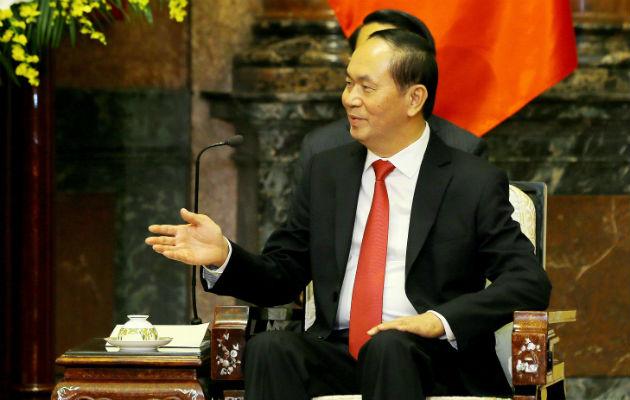Peña Nieto lamenta muerte de presidente de Vietnam