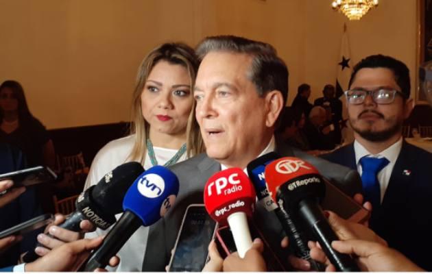 El presidente Laurentino Cortizo considera que Arquesio se debe separar del cargo de diputado, pero se le debe respetar su presunción de inocencia.