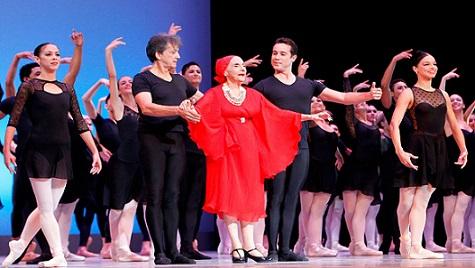 Alicia Alonso, máxima representante del Ballet Latinoamericano fue mentora de miles de bailarines y bailarinas.