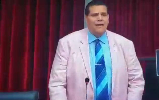 Sergio Gálvez diputado de Cambio Democrático.