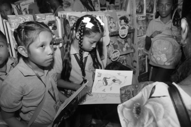 Urge planes de lectura dinámicos y editar libros que sean accesibles a todas las capas sociales, que se privilegie la literatura en los colegios, que los maestros lean para que sus alumnos sean lectores. Foto: Víctor Arosemena.