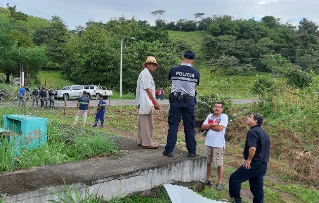 Los crímenes fueron cometidos en Los Algarrobos, corregimiento de Rodeo Viejo, distrito de Soná. Foto: Melquíades Vásquez.