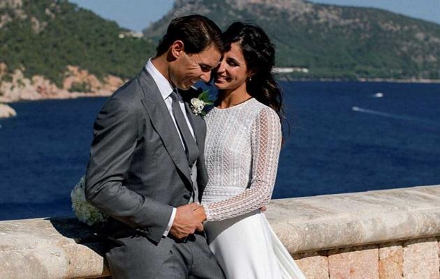 Rafa Nadal se casó hace un par de semanas.