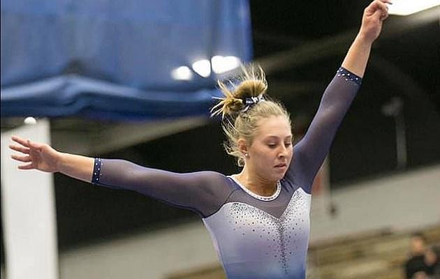 Melanie Coleman fue capitana del equipo de gimnasia en la secundaria.